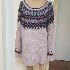 Maurice's rose gold sweater. Size 2. NWT